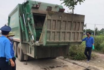 Tăng cường kiểm soát, xử lý vi phạm xe vận chuyển rác trên địa bàn Thủ đô