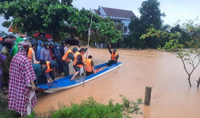 Sơ tán hơn 13.000 người dân ứng phó nguy cơ mưa lũ