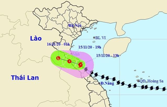Vì sao bão số 13 đổi hướng và di chuyển chậm trước khi vào đất liền?