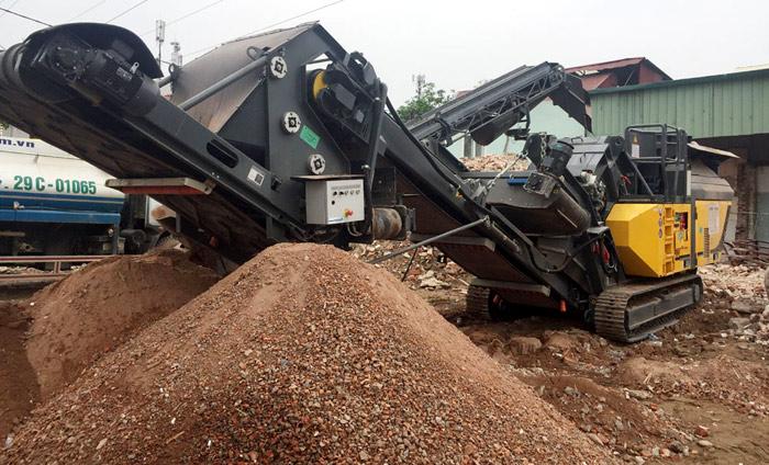 Nguồn nguyên phế thải xây dựng đang bị lãng phí