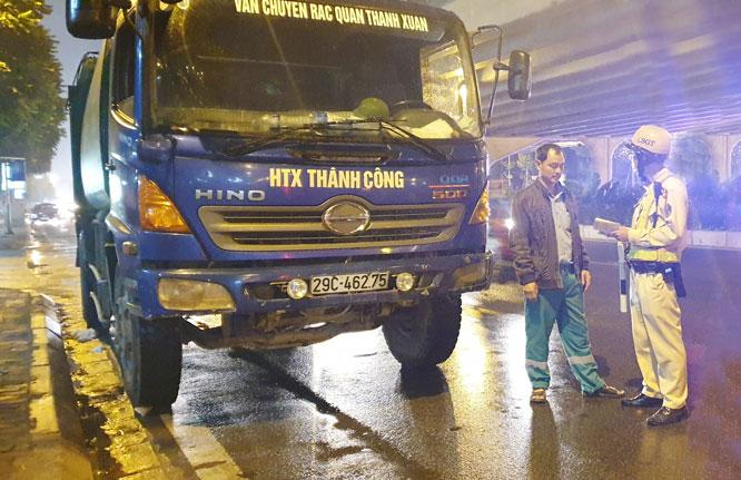 """Hà Nội: Mạnh tay xử lý """"hung thần"""" đường phố"""