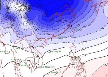 Đông Bắc Bộ và Bắc Trung Bộ có mưa, chuyển lạnh từ đêm 23/11