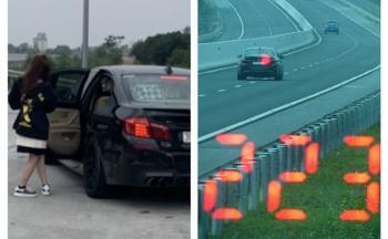 """Một tài xế lái xe ô tô với tốc độ """"kinh hoàng"""" 223km/h"""