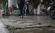 """Đá lát vỉa hè Hà Nội """"độ bền 70 năm"""" bong tróc sau 3 năm sử dụng"""