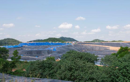 Lượng nước rác tại Khu liên hợp xử lý chất thải Sóc Sơn giảm khoảng 36.500m3