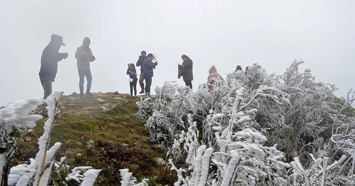 Bắc Bộ và Bắc Trung Bộ tiếp tục rét, nhiệt độ thấp nhất vùng núi cao dưới 5 độ
