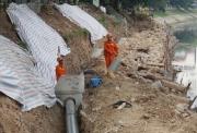 Cận cảnh công trình tách nước thải khỏi sông Tô Lịch