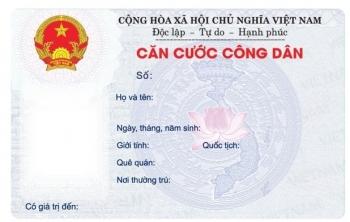 Căn cước công dân mã vạch sẽ bị cắt góc khi cấp đổi sang thẻ gắn chíp