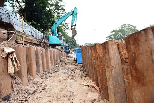 Hà Nội: Hối hả trên công trường dự án hồi sinh sông Tô Lịch