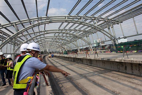 Tuyến metro số 1 của TPHCM được xây dựng bằng vốn vay ODA của Nhật Bản