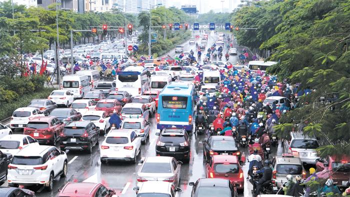 Hà Nội: Gia tăng áp lực giao thông dịp Tết
