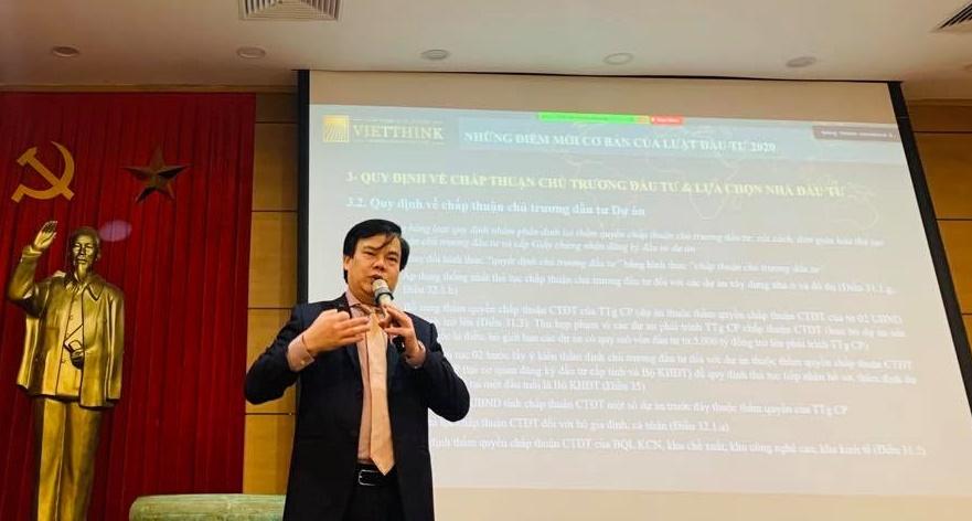Ls. Lê Đình Vinh, Giám đốc Công ty Luật TNHH Vietthink, Trọng tài viên VIAC.