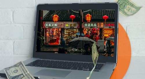 """Hãng xa xỉ Trung Quốc """"đua"""" lên sàn thương mại điện tử"""