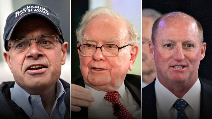 Ajit Jain (bên trái) và Greg Abel (bên phải), được cho là những người kế nhiệm ông Warren Buffett tại Berkshire Hathaway