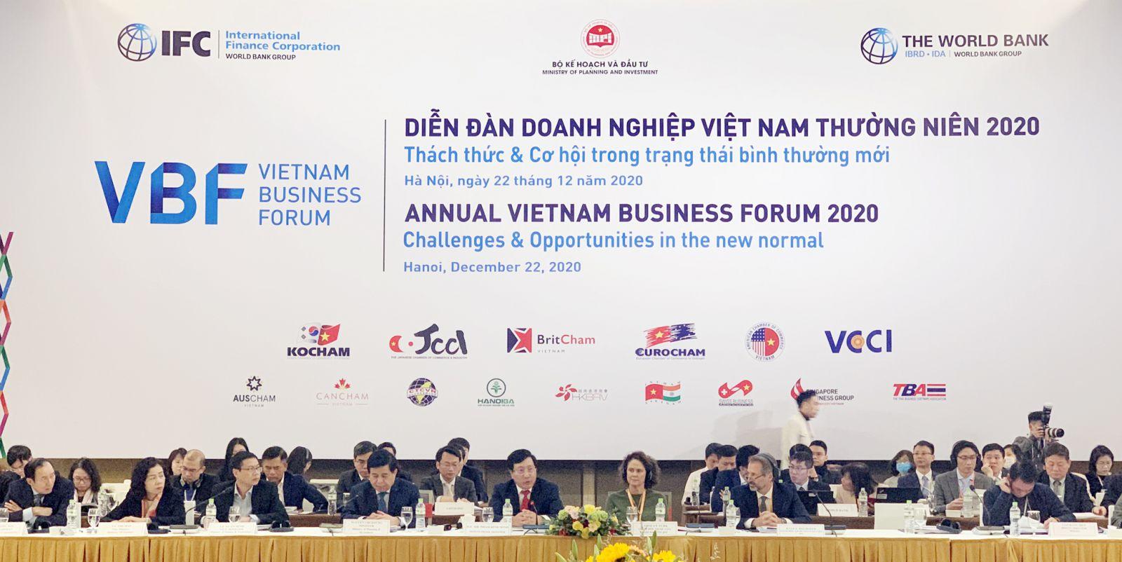 Diễn đàn Doanh nghiệp Việt Nam thường niên 2020