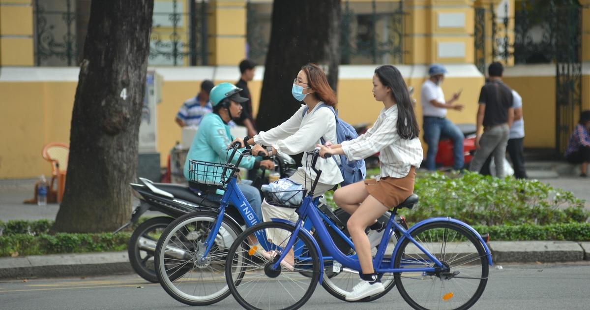 Thí điểm xe đạp công cộng thông minh ở trung tâm Sài Gòn