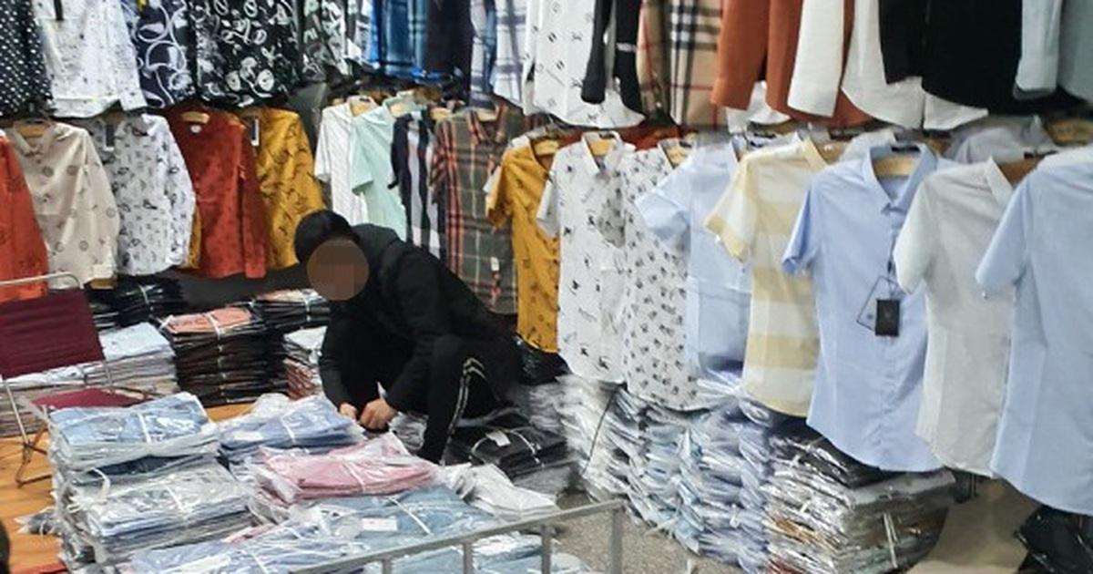 Dân buôn quần áo bất ngờ dừng nhập hàng Trung Quốc