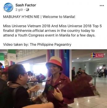 Sao Việt 1/2: H'Hen Niêđược báo chí và công chúng chào đón khi đến Philippines