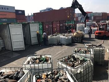 tin tuc ngay 612 rac thai doc hai trong 20 container len cap cang cat lai