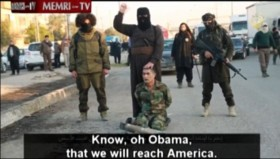 IS dọa lấy đầu Tổng thống Mỹ