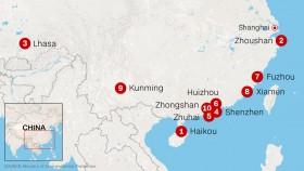 Trung Quốc: Chỉ 8 thành phố có không khí đạt tiêu chuẩn