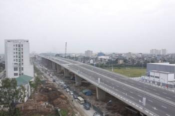 Thông xe cầu vượt thép lớn nhất Thủ đô
