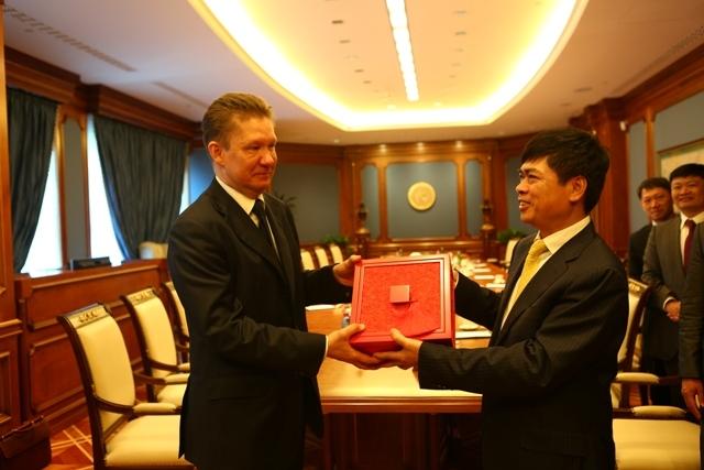 Gazprom sẽ mở rộng hợp tác với PVN trên nhiều lĩnh vực