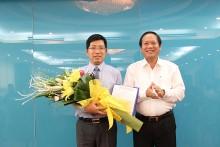 Ông Lưu Đình Phúc giữ chức Cục trưởng Cục Báo chí