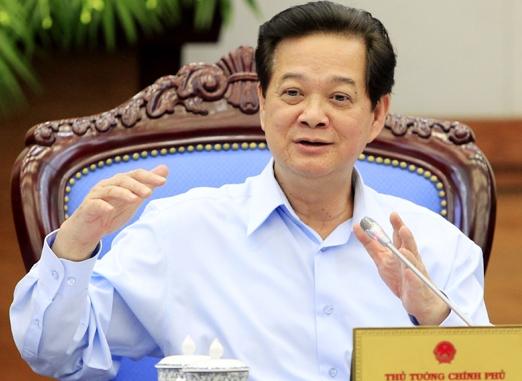 Thủ tướng Nguyễn Tấn Dũng: Yêu cầu Trung Quốc không tái diễn việc hạ đặt trái phép giàn khoan