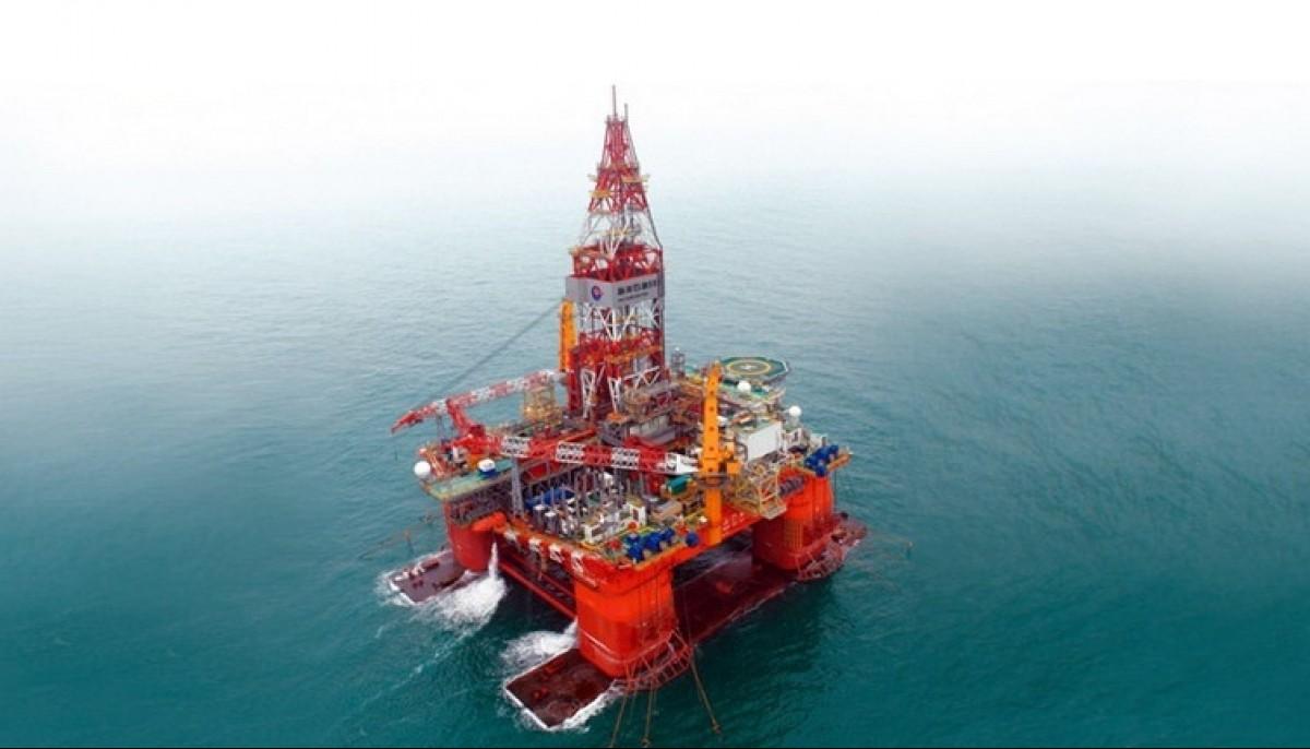 Giàn khoan Hải dương 981 đang ở Vịnh Bắc Bộ