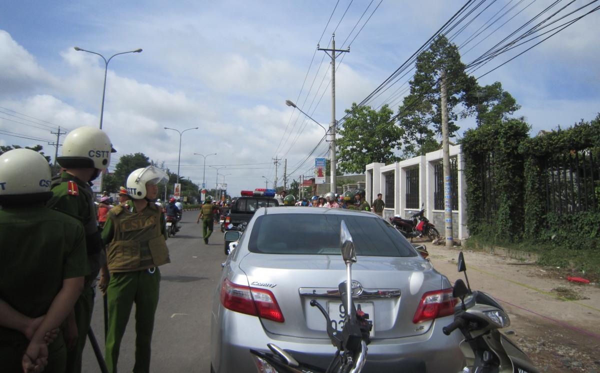 Bắt giữ một nghi phạm trong vụ thảm sát ở Bình Phước