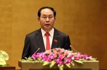 Ông Trần Đại Quang được giới thiệu làm Chủ tịch nước nhiệm kỳ 2016 - 2021