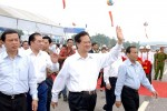 Chính thức thông xe đường cao tốc Nội Bài - Lào Cai