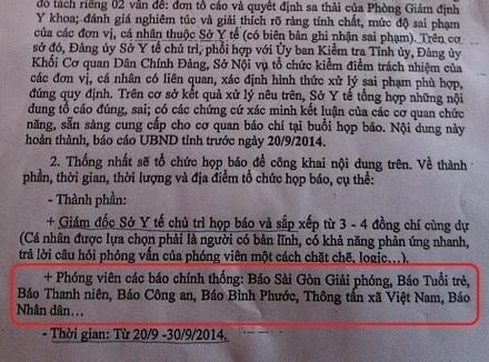 bao nao la khong chinh thong