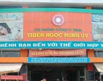 Cảnh báo về bán hàng đa cấp Thiên Ngọc Minh Uy