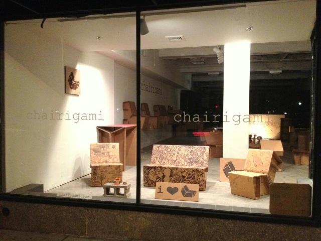 Ý tưởng thiết kế: Chairigami - Thiết kế đồ nội thất từ bìa các tông