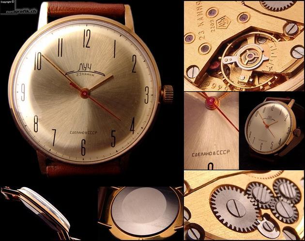 Thiết kế đồng hồ tuyệt đẹp dưới thời Liên Xô