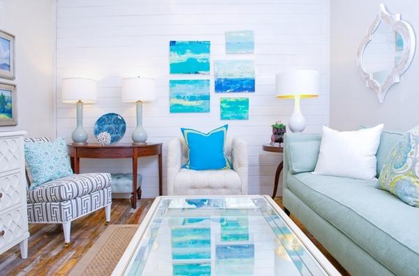 Phòng khách dành cho những người yêu biển
