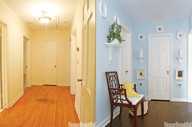 Sự biến đổi ngoạn mục của những căn phòng trước và sau khi sửa