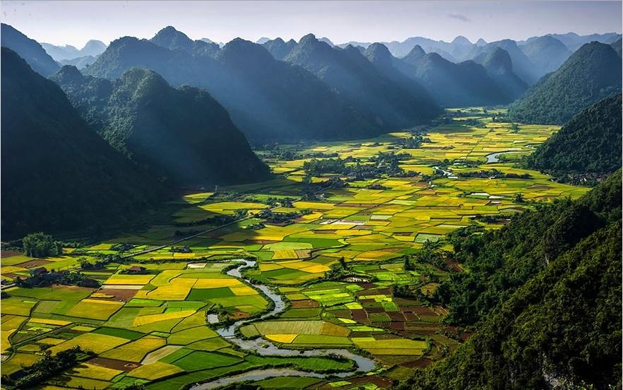 Vẻ đẹp thế giới nhìn từ trên cao