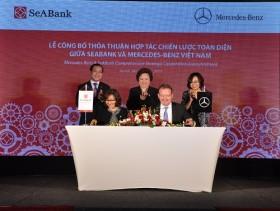 Mercedes – Benz và SeABank ký thỏa thuận hợp tác chiến lược toàn diện