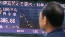 Chỉ số chứng khoán Nhật thấp kỷ lục