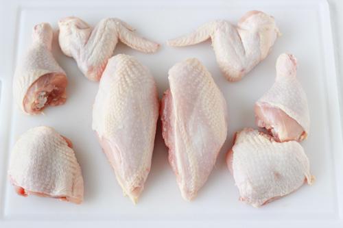 sơ chế thịt gà