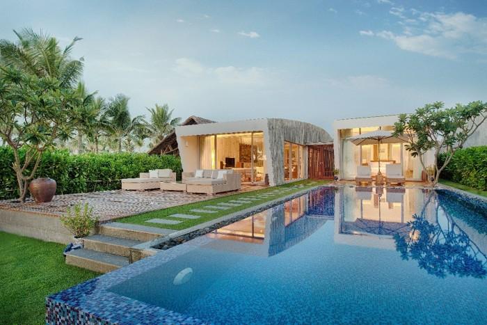kham pha khong gian dam hon viet tai resort xanh