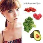 Khéo chọn thực phẩm phù hợp cho từng loại da