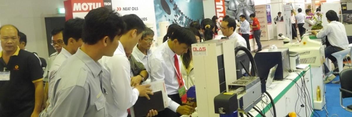 Tiếp cận công nghệ sản xuất Nhật Bản tại triển lãm MTA VIETNAM2015