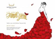 Triển lãm cưới Sắc màu tình yêu 2016