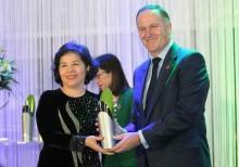 Nữ tướng ngành sữa nhận giải New Zealand-Asean