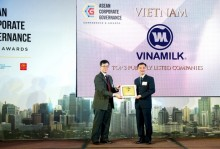 Vinamilk quản trị công ty tốt nhất Việt Nam