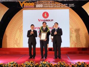 vingroup nam trong top 10 doanh nghiep nop thue lon nhat